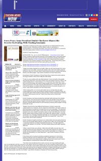 Forex Peace Army -  KOLD CBS-13 (Tucson, AZ) - Traders Insomnia Help Method