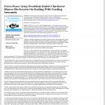 Forex Peace Army - WALB NBC-10 (Albany, GA)- Traders Insomnia Help Method