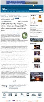 Dmitri Chavkerov -  Belleville News-Democrat - Trading Instrument