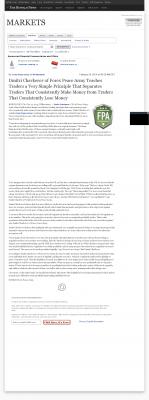 Dmitri Chavkerov -  Buffalo News (Buffalo, NY) - Trading Instrument