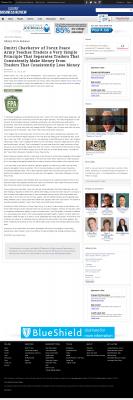 Dmitri Chavkerov -  Business Review (Albany) - Trading Instrument