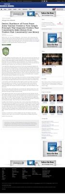 Dmitri Chavkerov -  Chicago Business News - Trading Instrument
