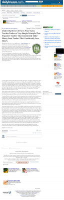 Dmitri Chavkerov -  Daily Breeze (Torrance, CA) - Trading Instrument