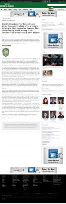 Dmitri Chavkerov -  Denver Business Journal - Trading Instrument