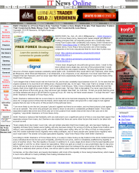 Dmitri Chavkerov -  IT News Online - Trading Instrument