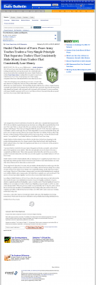 Dmitri Chavkerov -  Inland Valley Daily Bulletin (Ontario, CA) - Trading Instrument