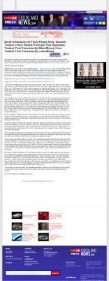 Dmitri Chavkerov -  KMEG-TV CBS-14 (Sioux City, IA) - Trading Instrument
