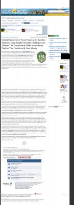 Dmitri Chavkerov -  Las Cruces Sun-News - Trading Instrument