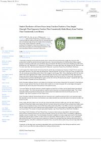 Dmitri Chavkerov -  Las Vegas Business Press - Trading Instrument