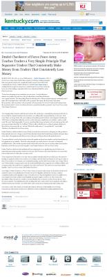 Dmitri Chavkerov -  Lexington Herald-Leader (Lexington, KY) - Trading Instrument