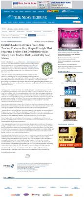 Dmitri Chavkerov -  News Tribune (Tacoma, WA) - Trading Instrument