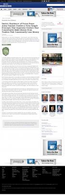 Dmitri Chavkerov -  Pacific Business News - Trading Instrument