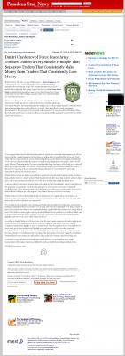 Dmitri Chavkerov -  Pasadena Star-News (Pasadena, CA) - Trading Instrument
