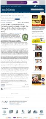 Dmitri Chavkerov -  The Bellingham Herald - Trading Instrument