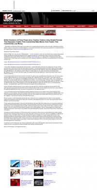 Dmitri Chavkerov -  WBOY-TV NBC-12 (Clarksburg, WV) - Trading Instrument