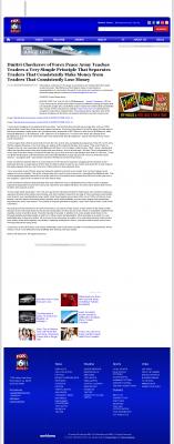 Dmitri Chavkerov -  WBRC-TV FOX-6 MyFox Birmingham (Birmingham, AL) - Trading Instrument