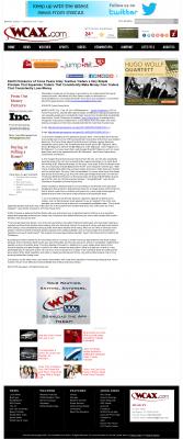 Dmitri Chavkerov -  WCAX CBS-3 (Burlington, VT) - Trading Instrument