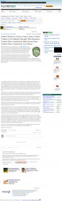 Dmitri Chavkerov -  Wall Street Select - Trading Instrument